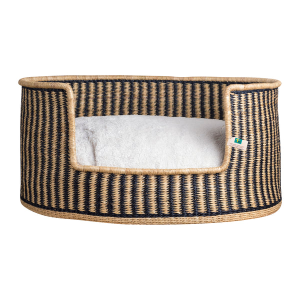 "Design Dua Bear Dog Bed ""Stripes"""