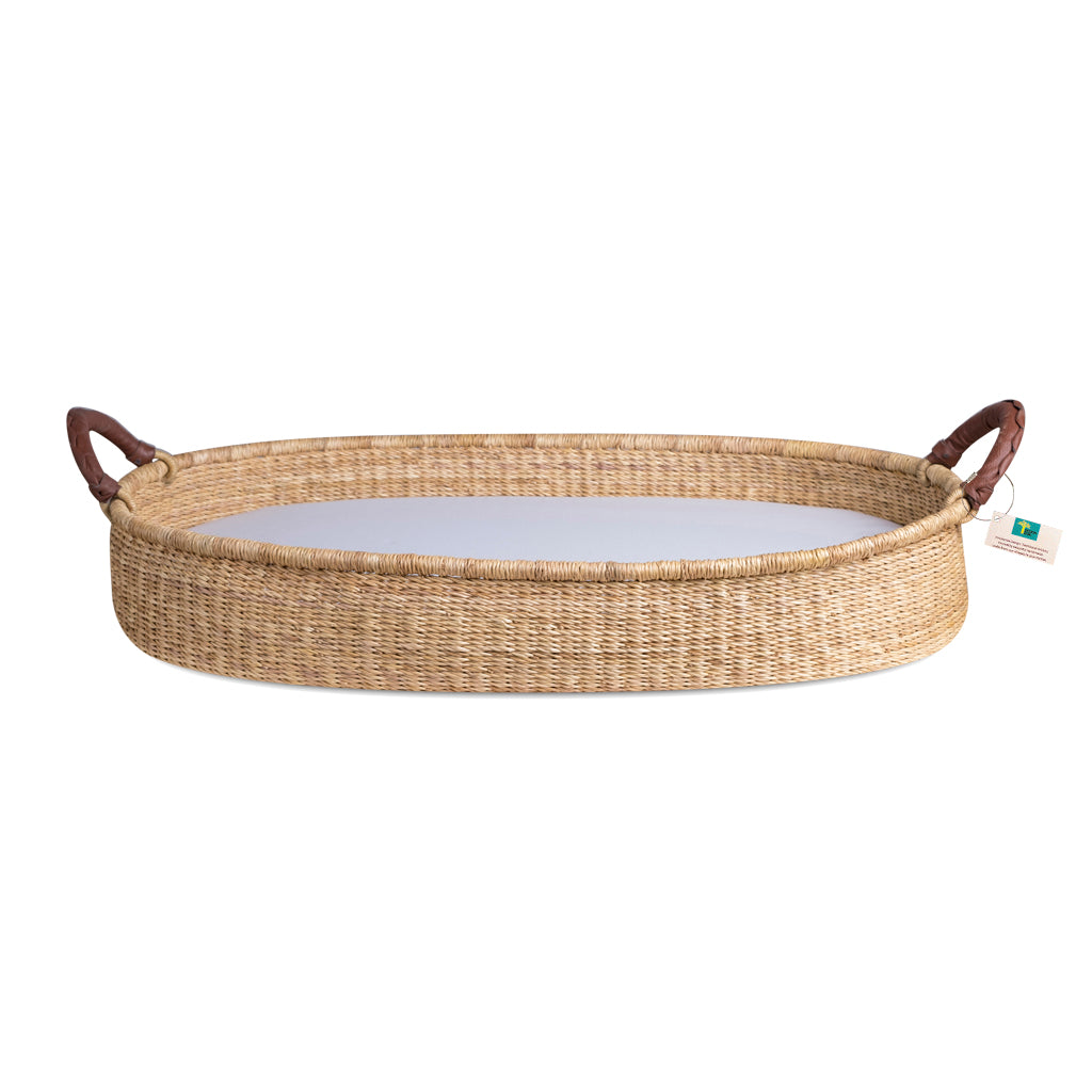 Handwoven Changing Basket