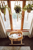 Signature Bilia Bassinet: Natural
