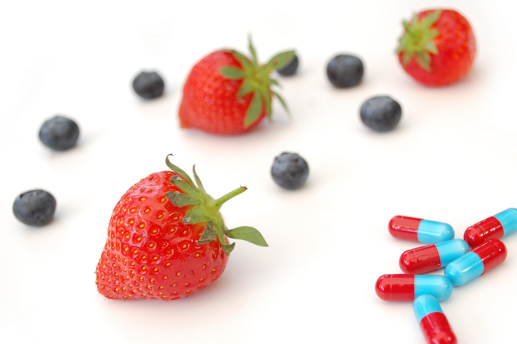 Gummy Vitamins are made from Real Fruit. Unlike vitamin pills.
