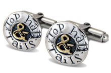 'Top Hat and Tails', cufflinks