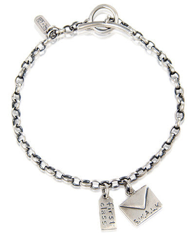 'To you, Love me', charm bracelet