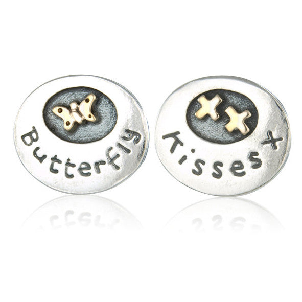 'Butterfly Kisses', earrings