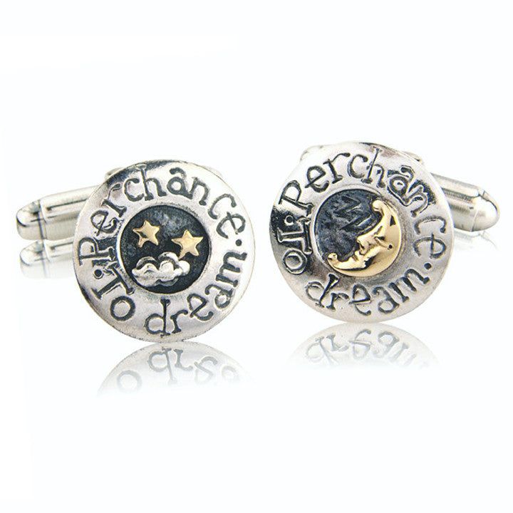 'Perchance To Dream', cufflinks