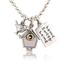 'Home Sweet Home', necklace