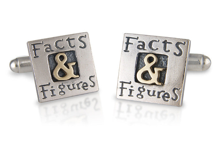 'Facts & Figures', cufflinks