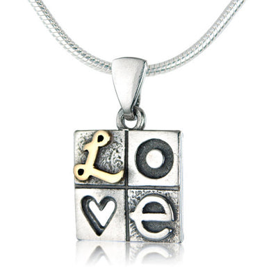 'LOVE' necklace