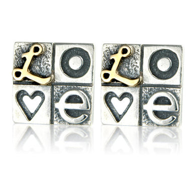 'LOVE' earrings