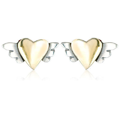 'Messages of affection', earrings