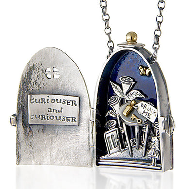 'Curiouser and Curiouser' locket