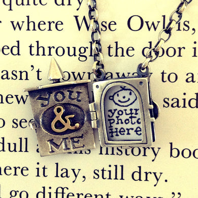 'You & Me' photograph locket