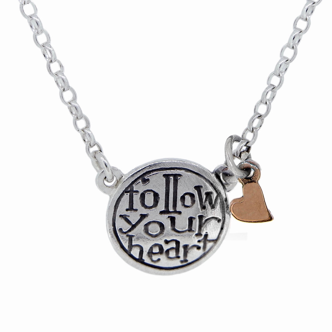 'Follow Your Heart', necklace