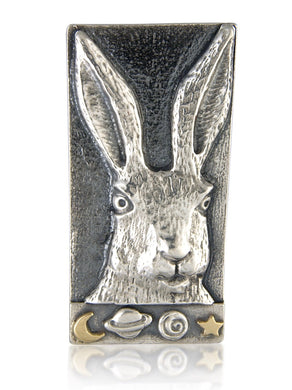 'Handsome Hare', brooch