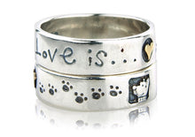 'Love is... Dog', ring