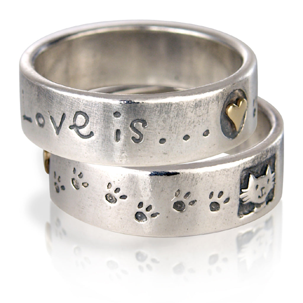 'Love is... Cat', ring
