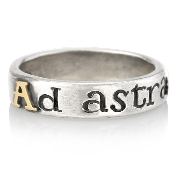 'Ad Astra... to the stars', ring