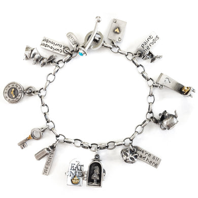 'Alice in Wonderland', charm bracelet
