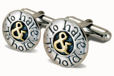 'To Have & to Hold', cufflinks