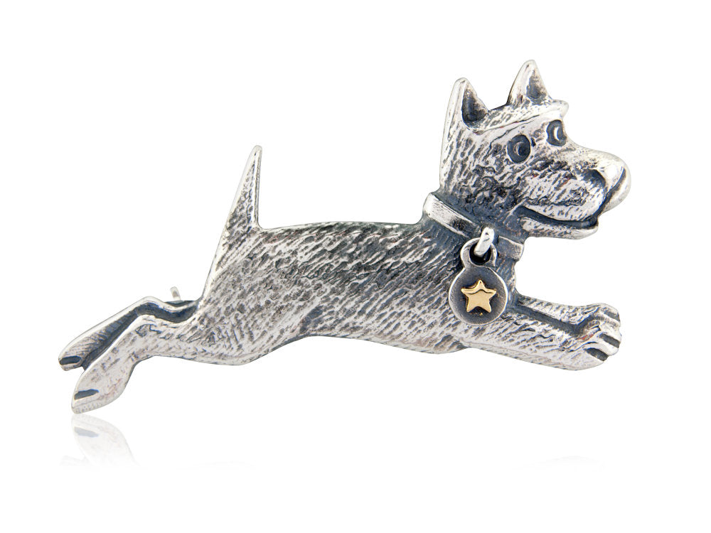 'Midnight Run', brooch