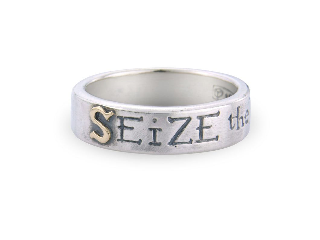 'Seize the Day', ring