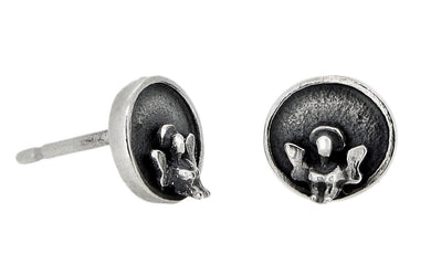 'Personal Angel', stud earrings