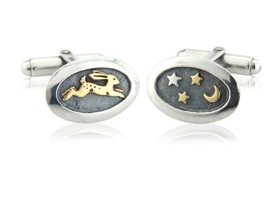 'Magical Hare', Cufflinks