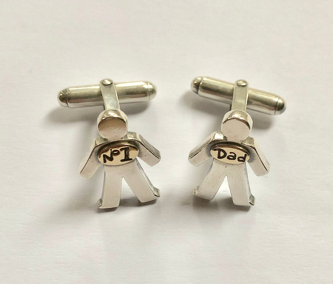 'No. 1 Dad', Cufflinks