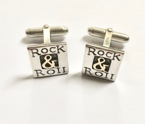 'Rock & Roll', Cufflinks