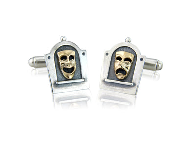 'Comedy and Tragedy', Cufflinks