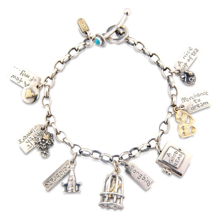 'A Few of my Favourite Things', charm bracelet