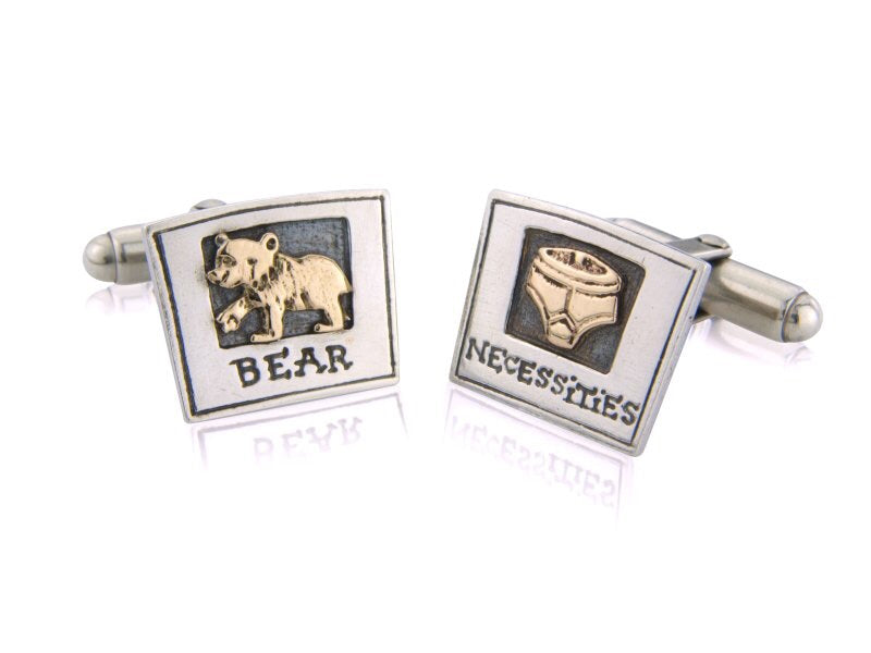 'Bear Necessities', cufflinks