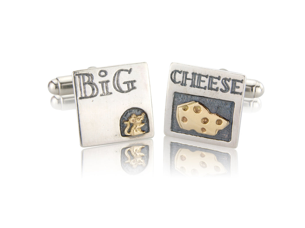 'Big Cheese', Cufflinks