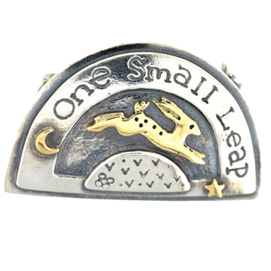 'One Small Leap' Brooch