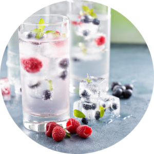 Hydrate while clean eating