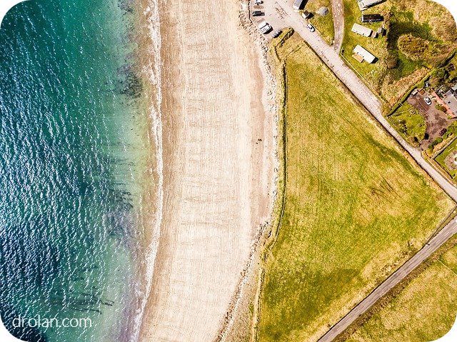 Nature symmetry by aerial photography