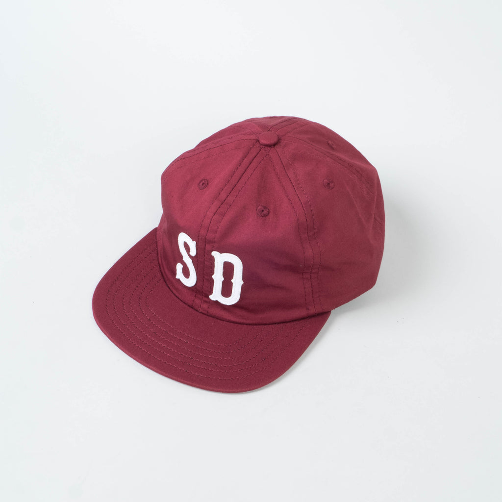 Lone Flag - SD Hat Crimson