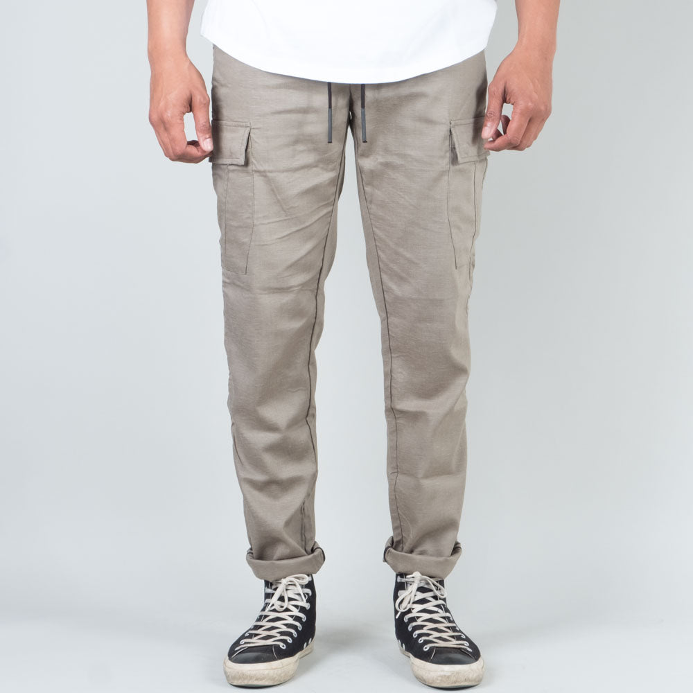 Acyclic Equip - Olive Tech Linen Cargo Pants