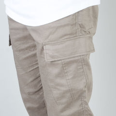 Acyclic Equip - Olive Linen Cargo Pants