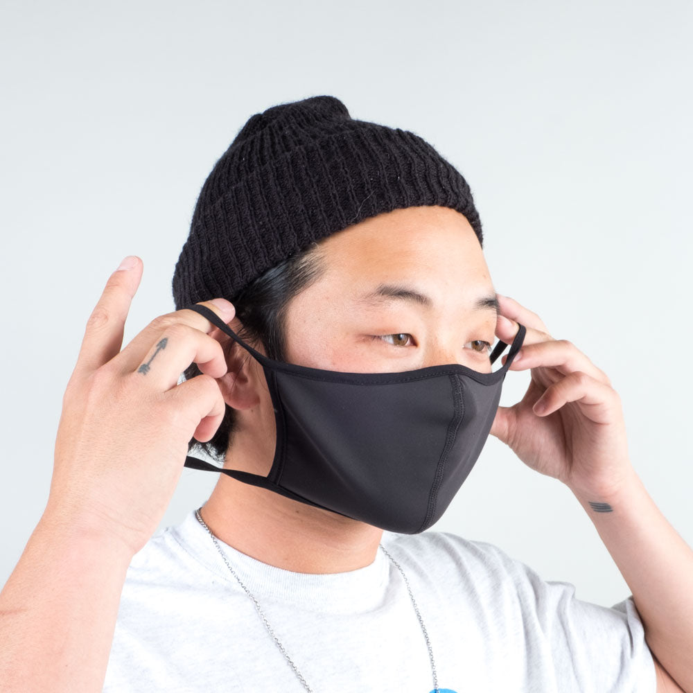 Lone Flag - Blackout Antimicrobial Quarantine Mask
