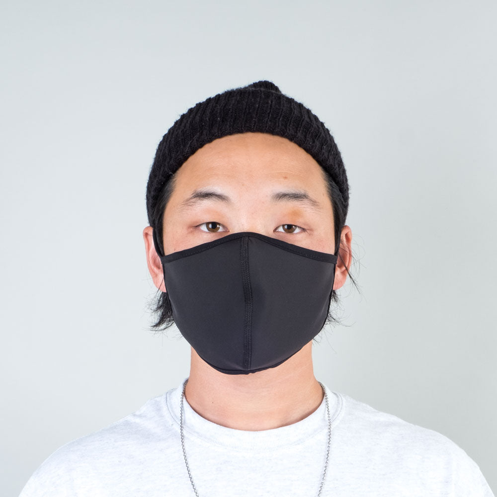Lone Flag - Blackout Antimicrobial Quarantine Mask - Lone Flag