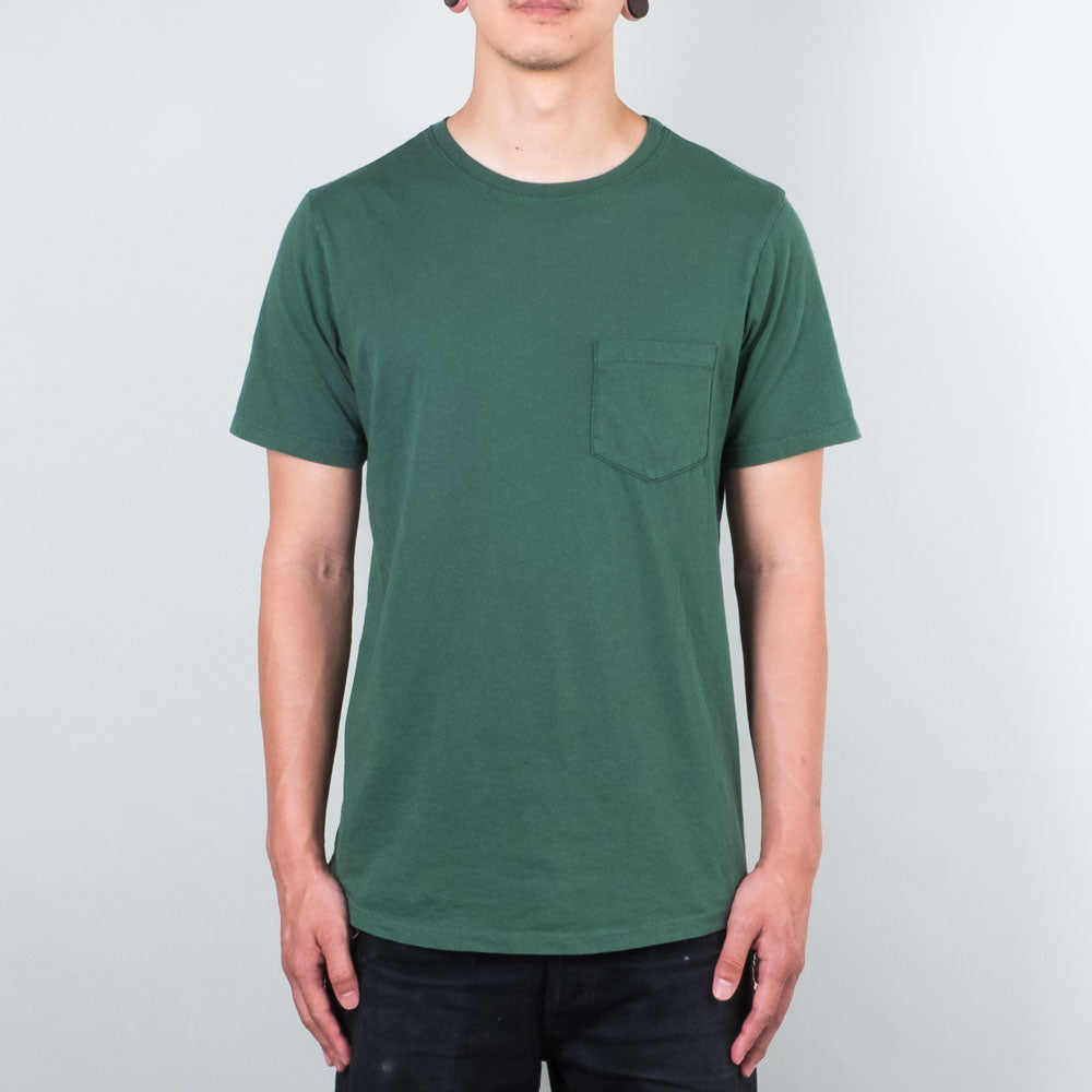 Lone Flag - Basic Pocket Curved Evergreen