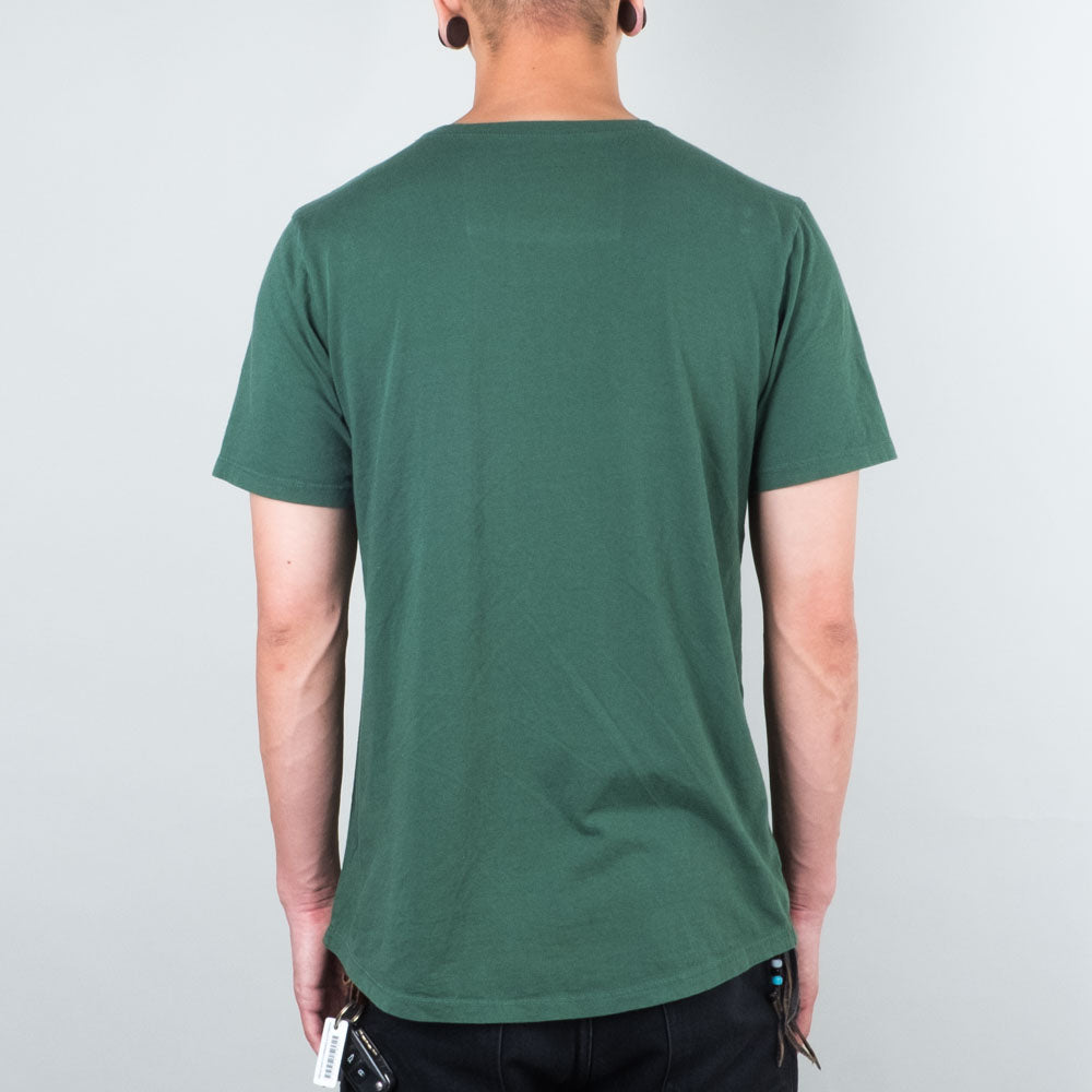Lone Flag - Basic Pocket Curved Forest Green
