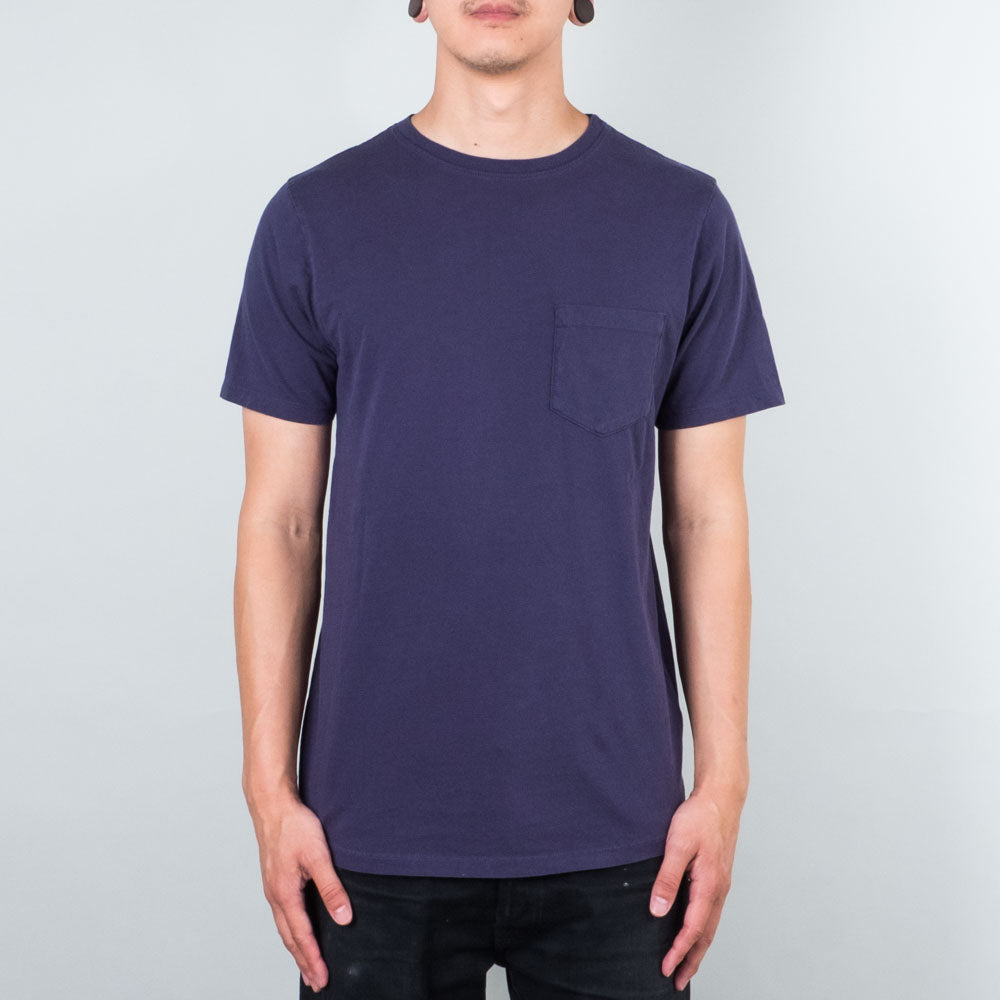 Lone Flag - Basic Pocket Curved Midnight Blue