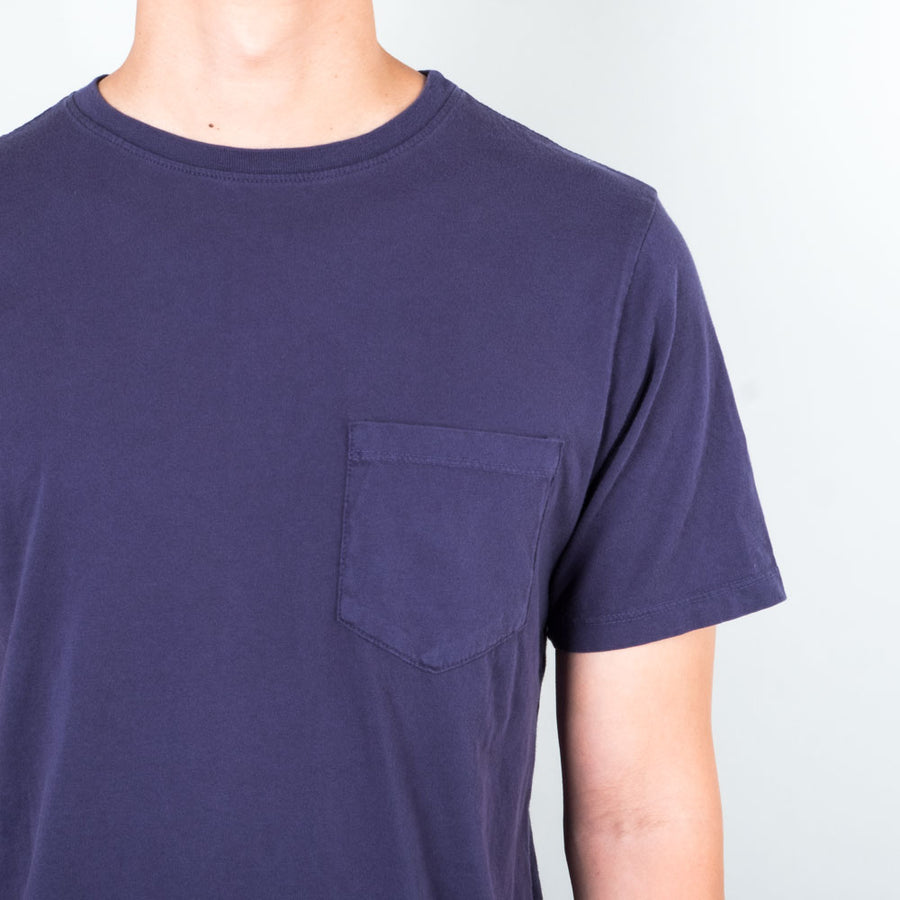 Lone Flag - Basic Pocket Curved Midnight Blue - Lone Flag