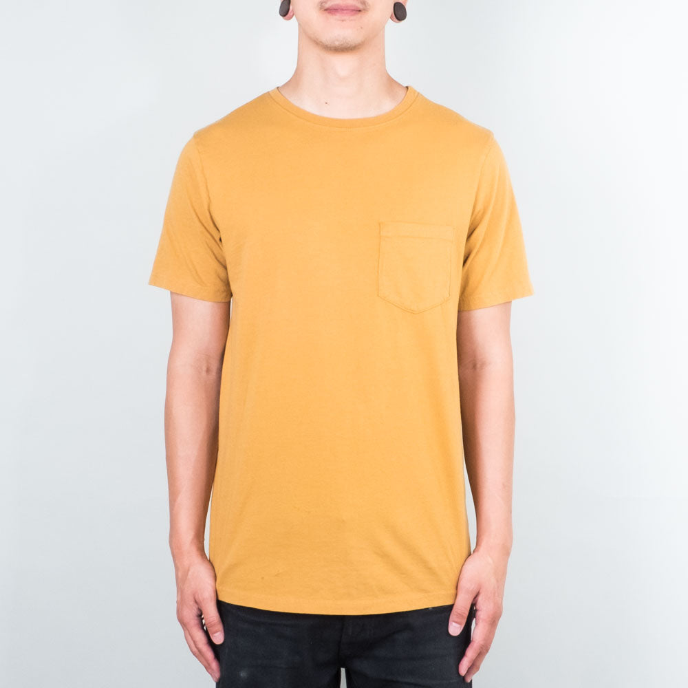 Lone Flag - Basic Pocket Curved Hem Dark Clay