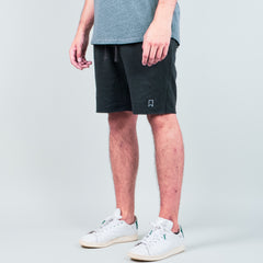 Lone Flag - Recycled Terry Sweat Short Vintage Black