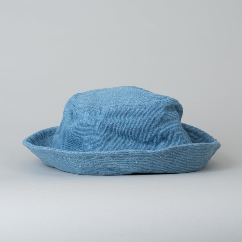 Lone Flag - Everyday Bucket Hat Light Indigo 12oz