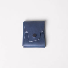 Koshu - Chromexcel Air Force Blue Rubberized Brass