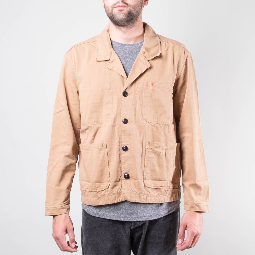 Imperfects - Cunningham Blazer in Kagawa Khaki