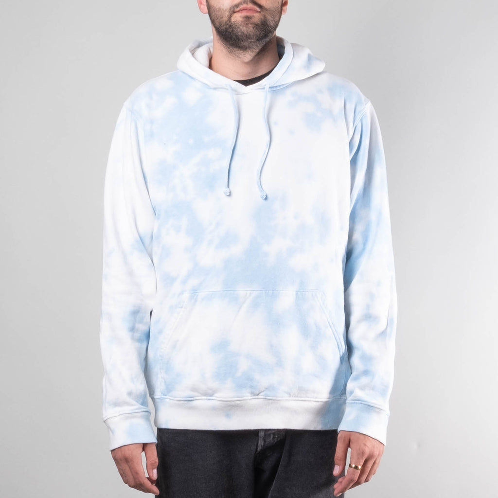 Lone Flag - By The Sea Fleece Tye Dye Sky Blue